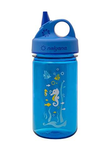 Nalgene Kunststoffflasche Everyday Grip-n-Gulp, Blau (Model sortiert)