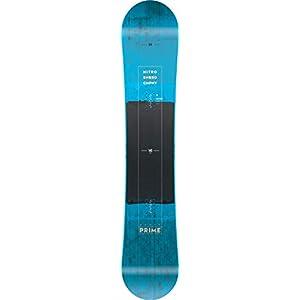 Nitro Snowboards Herren Prime Blue '19 Fehlerverzeihenden All Mountain Einsteiger Bis Fortgeschrittene Wide Snowboard für Große Füße Board