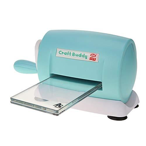 YanHeMingKeJi Stanz- und Prägemaschine, für Heimwerker, Kunststoff, Scrapbooking, Papierschneider, Kartenwerkzeug (blau) Wireless Ready Kit