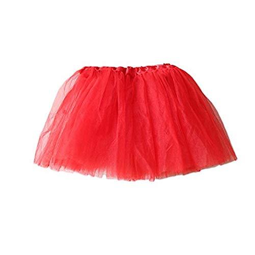SUCES Tüllrock Mädchen, Ballett Röcke Tutu Rock Ballettrock Kinder Tüllrock für Party Prinzessin Kostüm Ballettrock Klassisch 2-7 Jahre Tanzbekleidung (Klassische Ballett Kostüme)