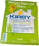 ORIGINAL Kirby 6 Staubssaugerbeutel Micron Magic ALLERGEN Filtration Bags für Modell Sentria und Sentria II