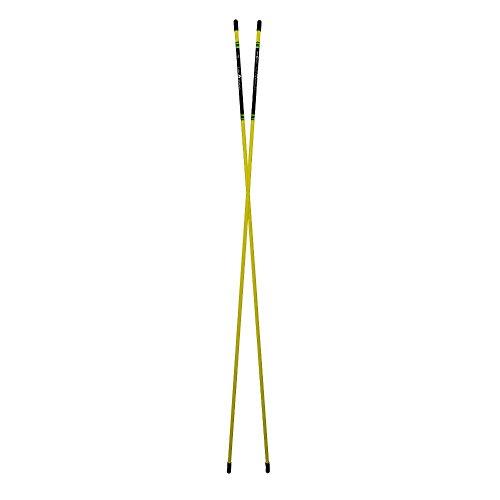 Golfoy Golf Training Alignment Sticks (Pair) (Yellow)
