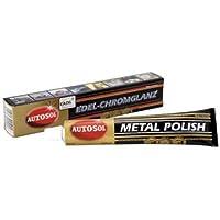 Autosol Chrome Polish - Limpiador para abrillantar metal y aluminio, 75ml / 100g
