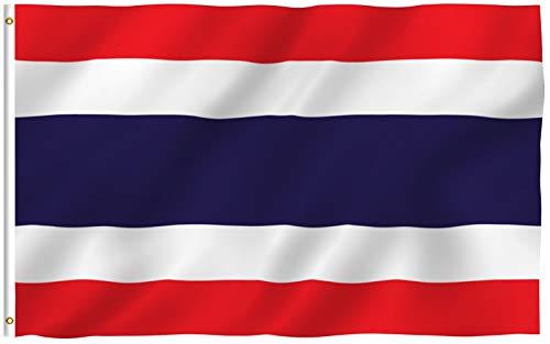 Asien Flagge