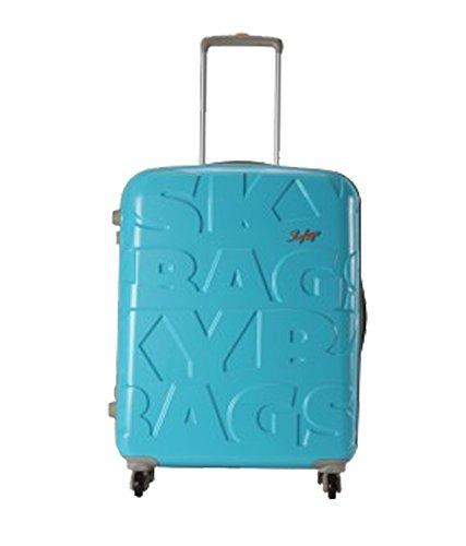 Skybags Oscar Polycarbonate 79.5 cms Tropical Blue Hard Sided Suitcase (OSCAR79TRB)