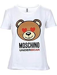 Moschino Underwear ZT1905 001 Maglia Donna Women s T-Shirt 30fd9d832d4