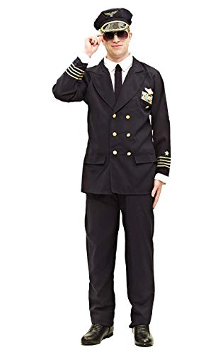 Kostüm Hollywood Dress Einfach Fancy - ORION COSTUMES Adult Pilot Costume