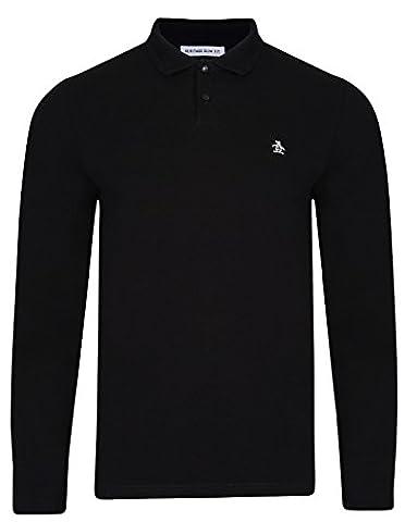 Mens Polo T-Shirt by Original Penguin 'Winston' Short Sleeved (True