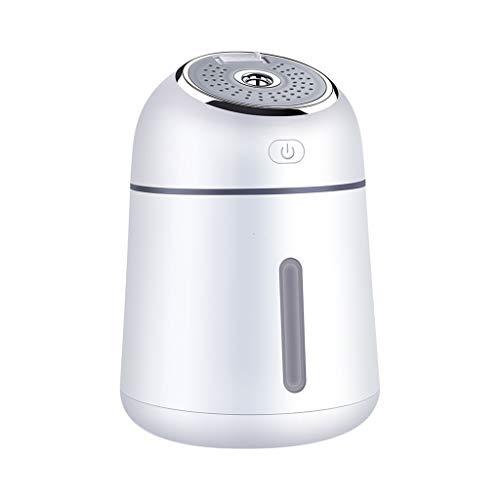 OULYO- Luftbefeuchter Multifunktions Mini USB Home Office Desktop Ultraschall Luft Schlafzimmer, Autoreise, Yoga, Babyzimmer (Color : White) - Anti-müdigkeit Feuchtigkeitscreme