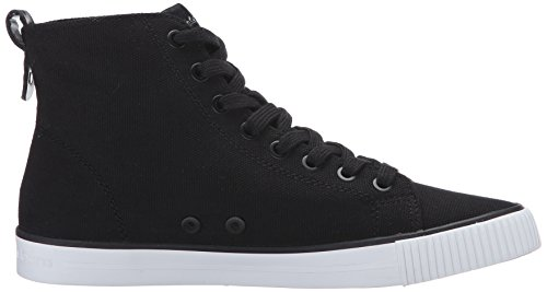 Calvin Klein Jeans Damen Dolores Canvas High-Top Schwarz (Blk)