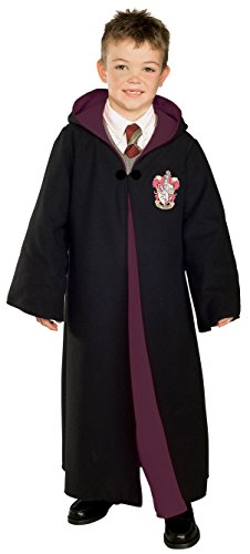 (Gryffindor Kinder Robe Harry Potter Deluxe - Gr. M 128 cm)