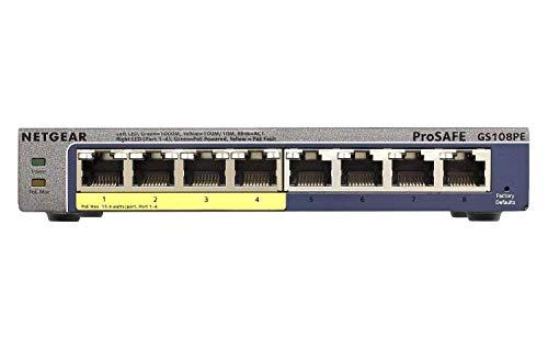 Netgear GS108PE-300EUS - Smart Switch gestionable
