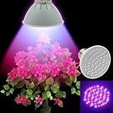 60 LEDs Grow Light E27 AC85-265V Full Spectrum Indoor Plant Lamp For Seedling Vegs Flower Hydroponic System Plant Light