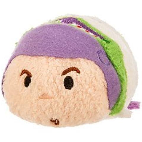 New Disney Store Mini 3.5 (S) Tsum Tsum Buzz Lightyear Plush Doll (Toy Story) by Disney
