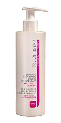 speciale capelli perfetti shampoo illuminante colore lungadurata per capelli colorati maxi taglia 400 ml