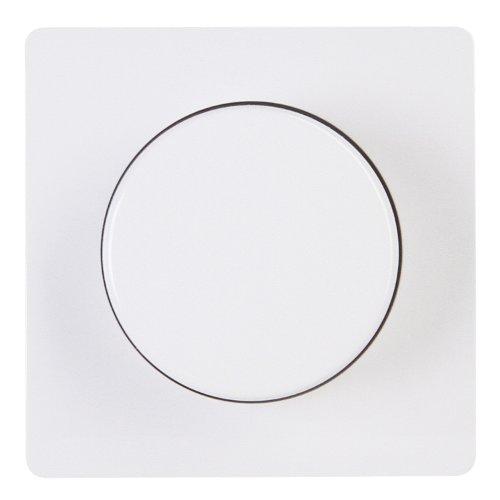 Kopp 333702006 HK05 Abdeckung für Dimmer mit Druck-Wechselschalter