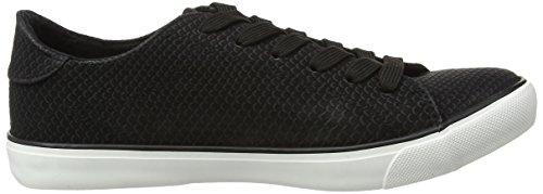 New Look - Moxie, Sneaker Basse Donna Nero (Black)