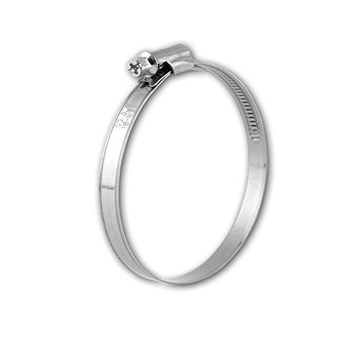 Lot de 10 en acier inoxydable collier de serrage w2 ø 8 à 16 mm, largeur 9 mm, dIN 3017, qualité industrielle, il ® à vis-cuir