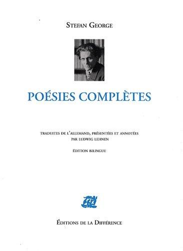 Poésies complètes : Edition bilingue français-allemand