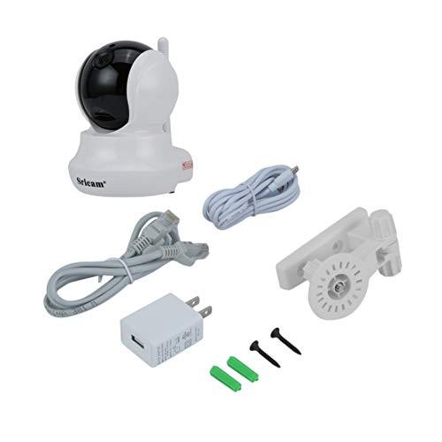 LouiseEvel215 Wireless HD 720P Pan Tilt Indoor Home Security IP-Kamera IR-Nachtsicht WiFi Smart-Webcam Baby-Haustier-Monitor Tilt Indoor Kamera