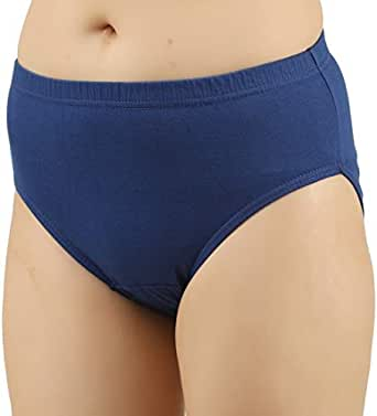 IVAZA Premium Coton Plain Womens Hipster Brief Ladies Panties Combo Pack of