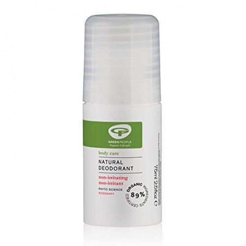 Green People Company 75ml Organic Rosemary Deodorant Roll On - Green People Organic Deodorant