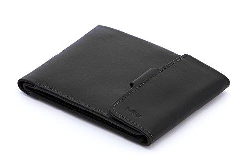 Bellroy Herren Leder Geldbörse Coin Fold, Farbe: Black (Fold Geldbörse)