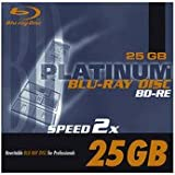 Platinum 25 GB BD-R Blu-ray-Rohling (2x Speed) in 1er Jewel Case