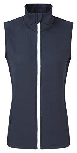 Footjoy Damen Women´s Thermal Quilted Vest Sport Weste, Blau (Azul Navy 96027), Large Thermal Womens Vest
