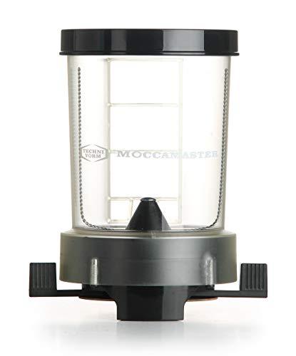 Moccamaster 49100–dosatore per caffè dos alluminio, nero