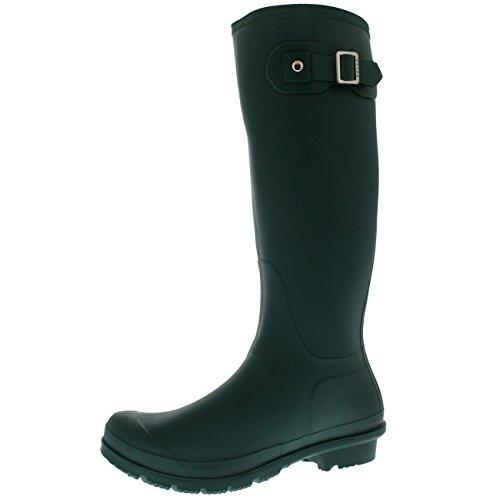 Polar Boot Womens Original Tall Side Buckle Dog Walking Snow Rain Waterproof Wellington Boot