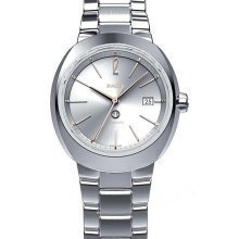 rado r15514113 watch d star ladies - silver dial stainless steel case automatic movement