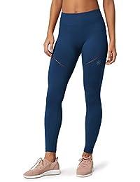Marque Amazon - AURIQUE Legging de Sport sans Coutures Femme