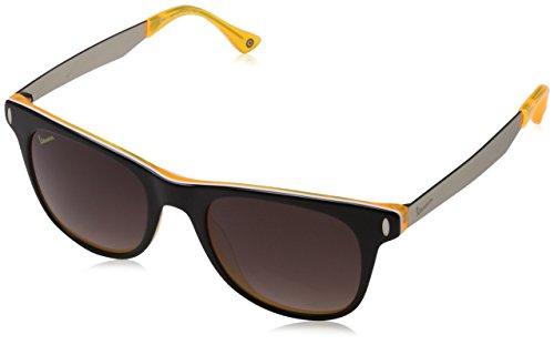 Vespa wayfarer Eye Montures de lunettes Mixte Adulte, Noir (Nero/giallo) 51