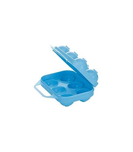 Cosmoplast 8187100 portauova plastica, 6 pezzi