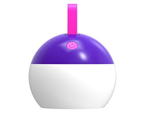 illumitec Camping Lampe Violet LED 1.5 W – IP67–1000 mAh Batterie Li-Ion – USB – 100 Lumens (d'extérieur Lumière Lampe d'extérieur, Outdoor, lampe, camping, tentes,, lumière camping Lanterne Lampe de poche)