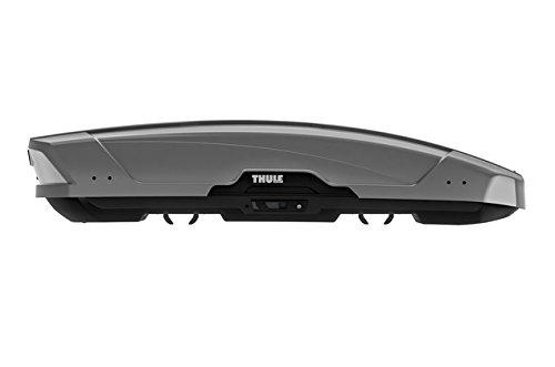 THULE  629600 Coffre de Toit Rigide Motion XT Sport 6296T, Titan Brillant, Gris, Taille S