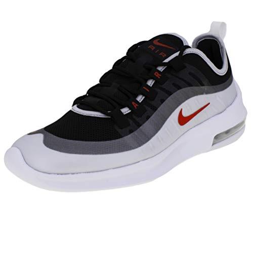 Nike Air Max Axis, Scarpe da Trail Running Uomo, Multicolore (Black/Sport Red/Mtlc Platinum/White 009), 42.5 EU