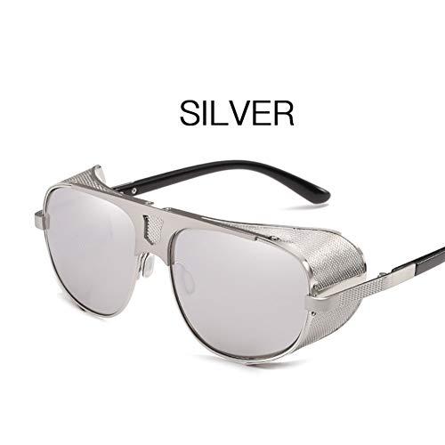 TYZDY Herren und Damen Metall Auto-Sonnenbrille Rundrahmen Brille Farbfilm Sonnenbrille Sportbrille Angeln Golf Brille