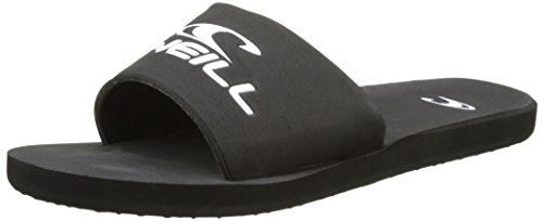 O'Neill - Fm Slideswell Flip Flops, Scarpe da Spiaggia e Piscina Uomo Nero (Black Out Option B)
