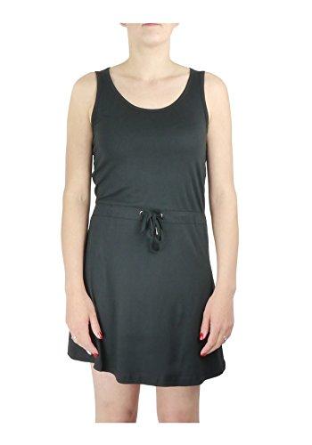 VERO MODA Damen Kleid ARROW S/L ABOVE KNEE DRESS IT Schwarz (Black C-N10)