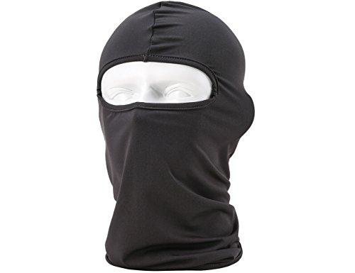 ForNeat Ski-Maske Premium-Gesichtsmaske Motorrad Nackenwärmer oder Tactical Balaclava Hood (Grau 01)