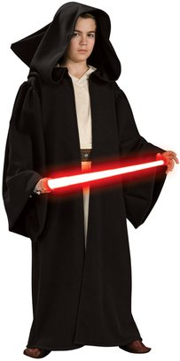Star Wars Kinder Kostüm Sith Robe mit Kapuze Größe M 5 bis 7 (Lord Halloween Sith Kostüm)