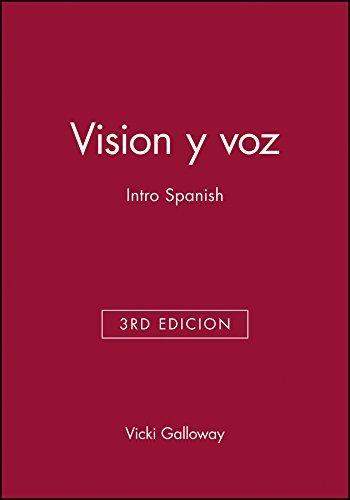 Vision y voz: Intro Spanish by Vicki Galloway (2002-07-23)