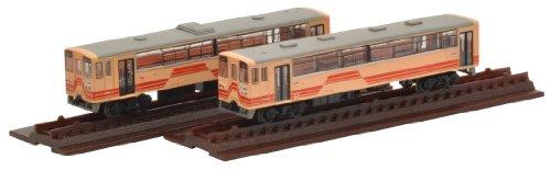 Collection de chemin de fer fer Kore Myochi ferroviaire Aketi 6-Aketi 1 2 voitures Set