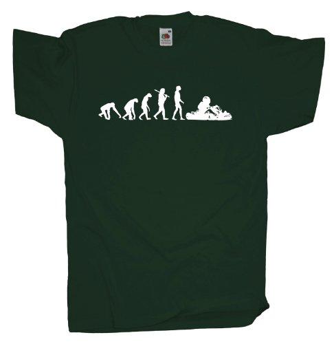 Ma2ca - Evolution - Gokart T-Shirt Bottle Green