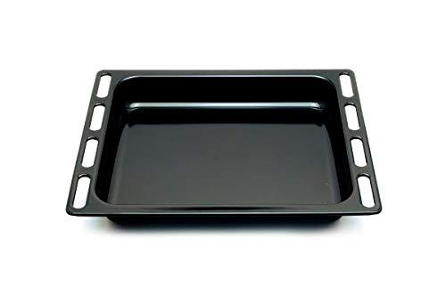 Leche-frites Emaille Noire 446x364x56 Référence : C00098172 Pour Four Scholtes