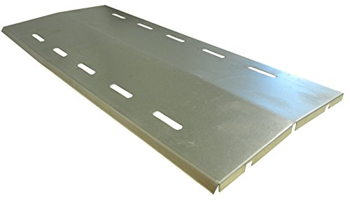 music-city-metals-95551-stainless-steel-heat-plate-for-manhattan-brand-gas-grills-silver