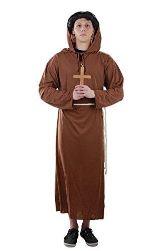 Kostüm Mönch Mönchkostüm Mönchkostüme Gr. S, M, L, XL, XXL, Größe:S