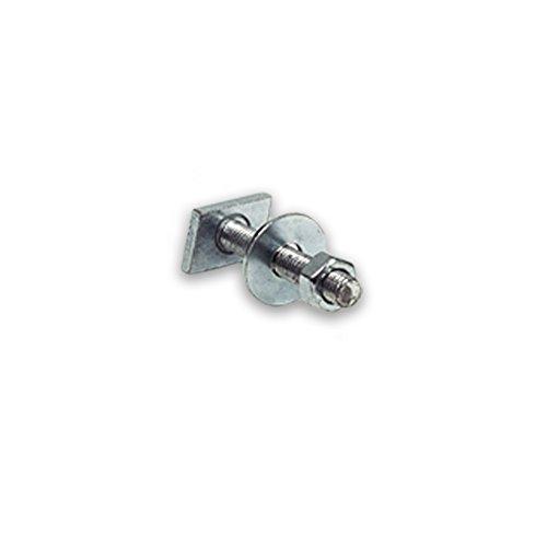Hammerkopfschraube, verzinkt M10x50, für Schienenprofil 27/18 und 28/30